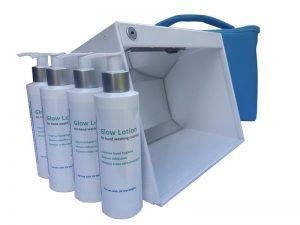 Natural Hygiene UV Glow Box Kit
