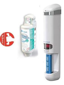 Natural Hygiene Gel Dispensing Door Handles