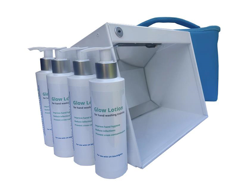 Natural Hygiene UV Glow Box Kit